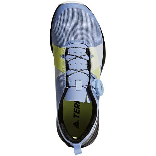 adidas TERREX Two Boa - Chaussures running Femme - jaune